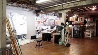 Artist Studio Chuck Tingley