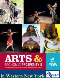 Arts & Economic Prosperity Report 5 Cover