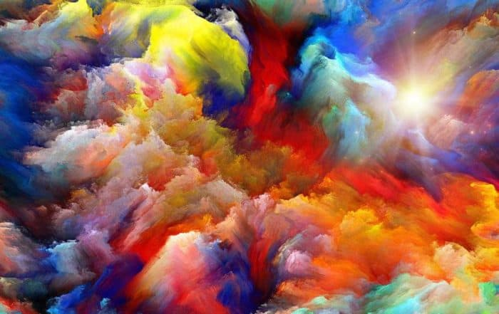 Artistic Color Painting
