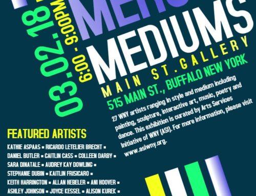 Merging Mediums Exhibition: 3/2