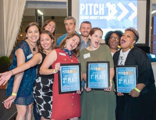 We Won at Pitch 10 BECAUSE OF YOU!