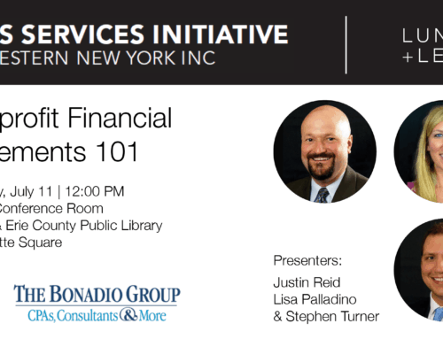 ASI and The Bonadio Group Present: Nonprofit Financial Statements 101