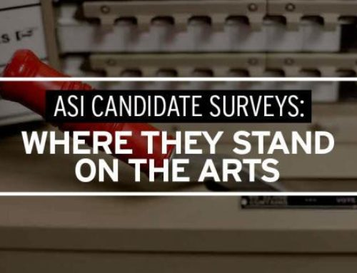 Last Chance for the Region's Candidates for Public Office to Complete ASI's Arts Sector Survey