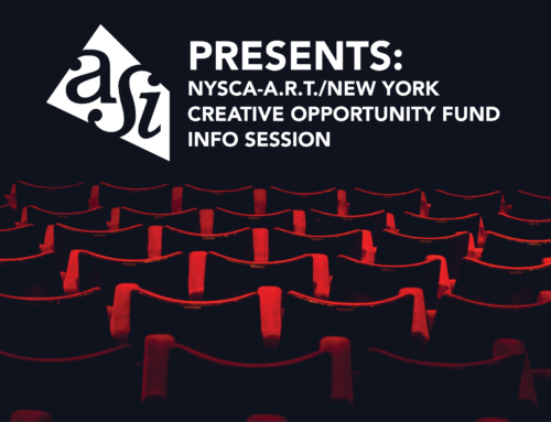 ASI Presents: NYSCA-A.R.T./New York Creative Opportunity FundInfo Session