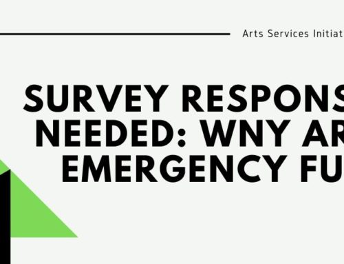 Survey Responses Needed: WNY Arts Emergency Fund