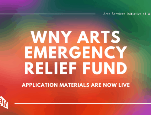 WNY Arts Emergency Relief Fund: Application Materials Live
