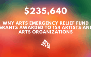 WNY Arts Emergency Relief Fund