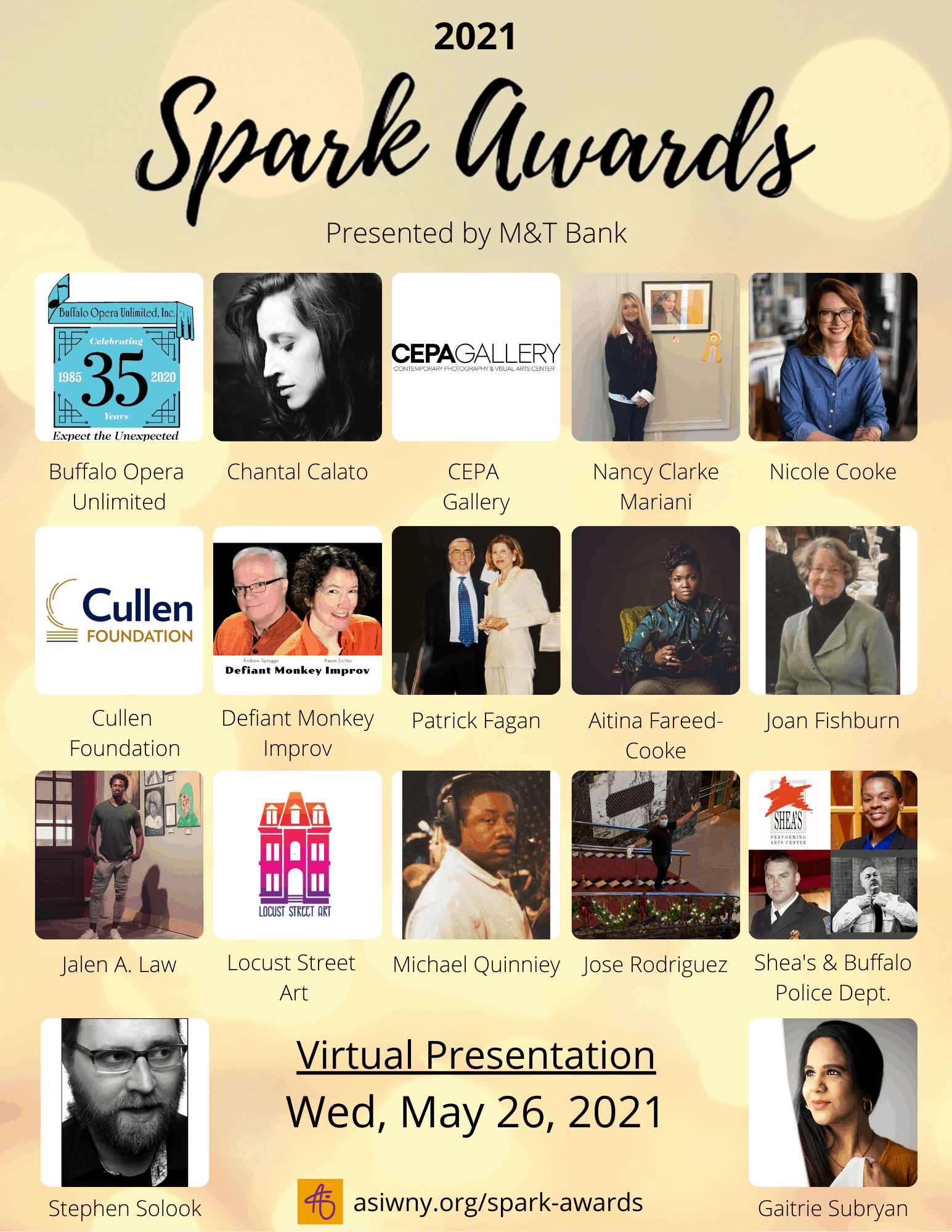2021 Spark Honorees