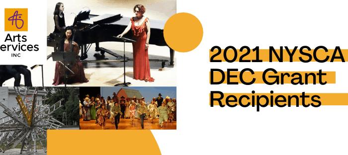 2021 DEC Grant Recipients Header Image